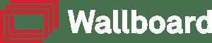 Wallboard Logo Red-White